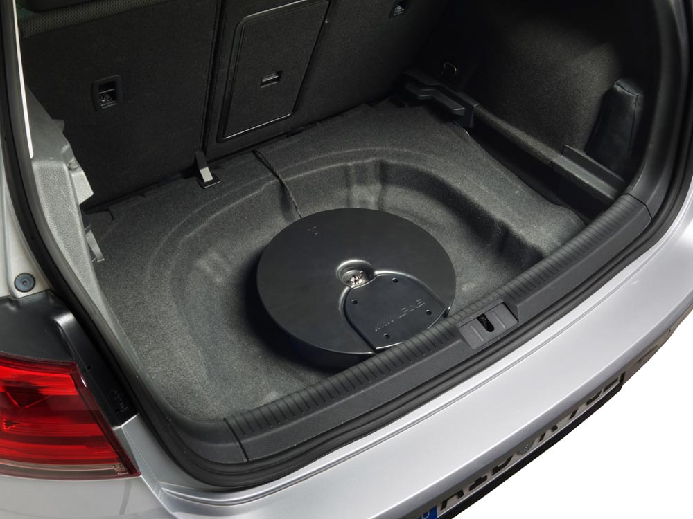 Alpine SPC-600G7 Premium Subwoofer-Soundupgrade für VW Golf VII, Golf VI und Skoda Octavia 3, Plug & Play