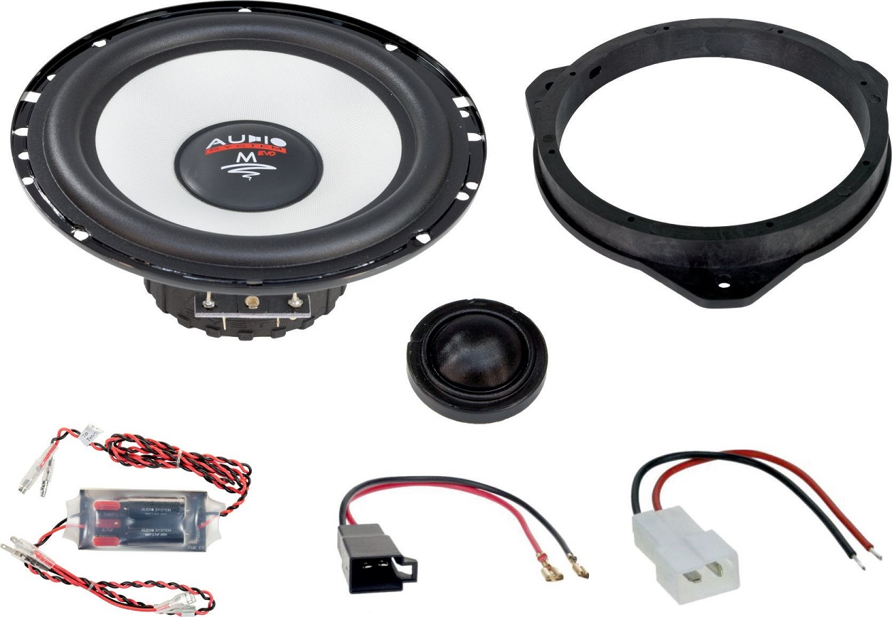 Audio System MFIT CITROEN JUMPER EVO 2 Lautsprecher 16,5cm 2-Wege CITROEN JUMPER ab 2006