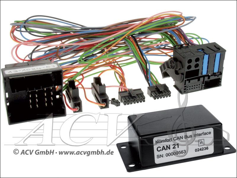 12-1024-57 BMW CAN-BUS Adapter mit MFL auf Variocom VC04