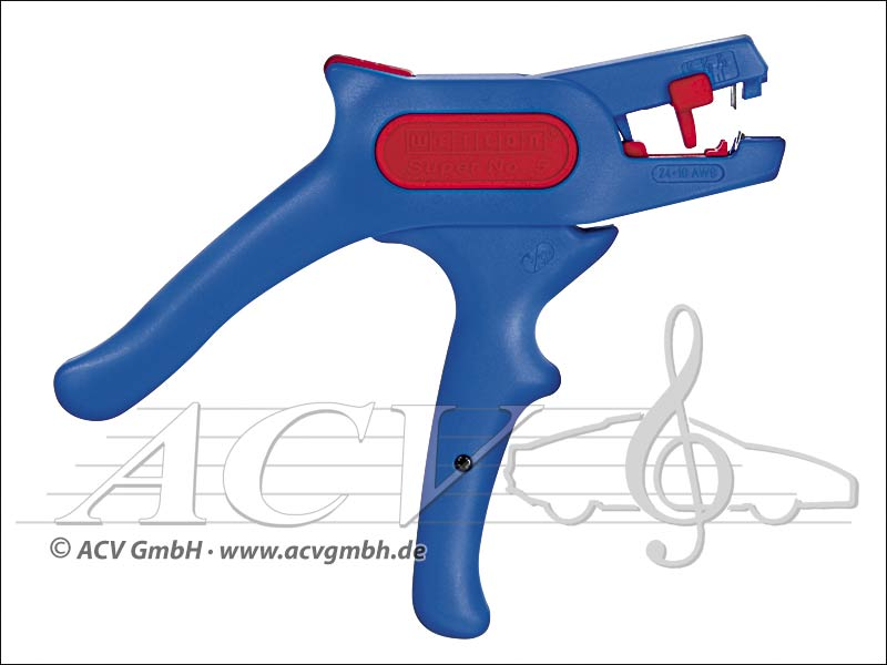 "ACV 379090 Abisolierzange 0,2 - 6,0 mm² ""Made in Germany"""