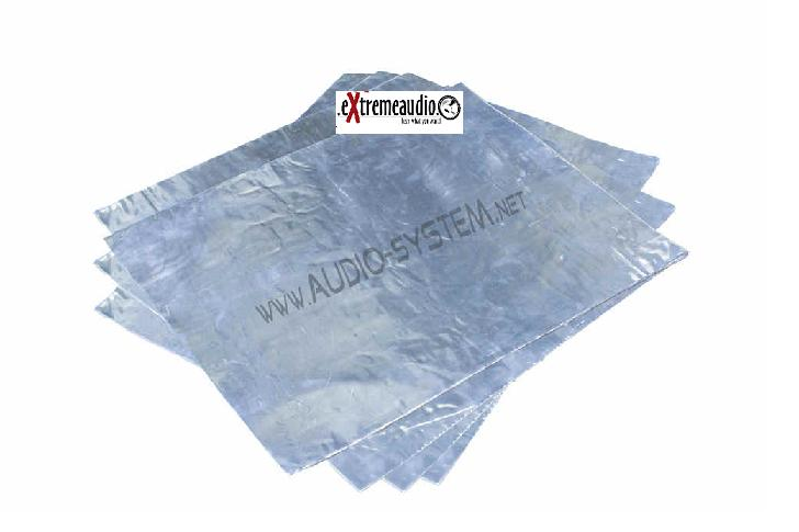 Alu-butyl 4 Platten je 500 x 475 mm Alubutyl Dämmung