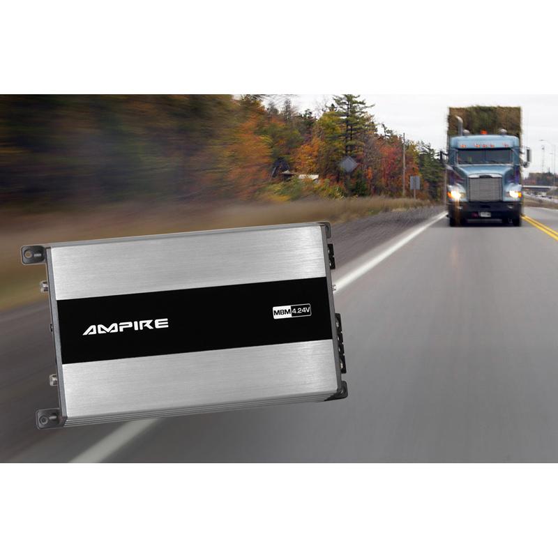 AMPIRE MBM4.24V-2G Endstufe, 4x 100 Watt, Class D, 24 Volt für LKW, Busse und Boote