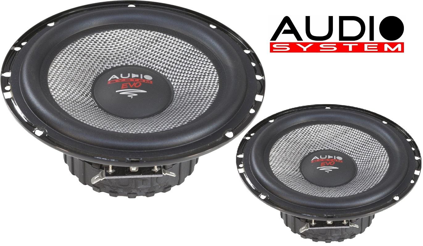 AUDIO SYSTEM AS 165 EVO  Tief / Mitteltöner / Midrange Lautsprecher 1 Paar