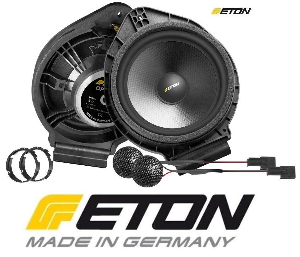 ETON OPEL-F2.2 Upgrade Opel Universall 2-Wege Lautsprecher System ohne Center Opel Adam, Opel Astra J, Opel Cascada, Opel Insignia, Opel Meriva, Opel Zafira Tourer, Chevrolet Malibu, Buick Cascada