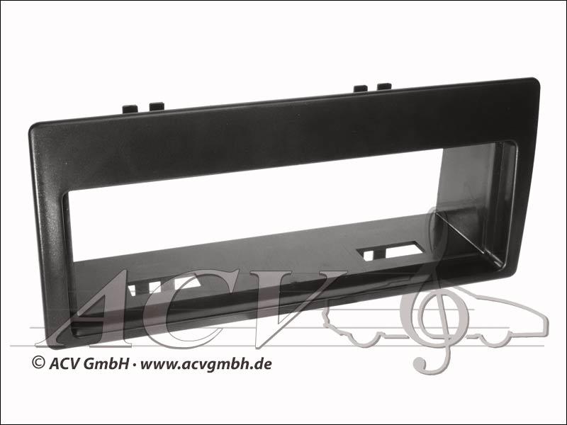 Radio panel rubber touch Citroen Xantia Black