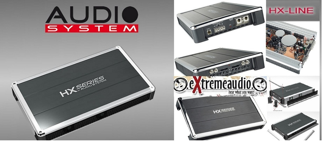 Audio System HX170.4 4-Kanal High End Verstärker HX 170.4
