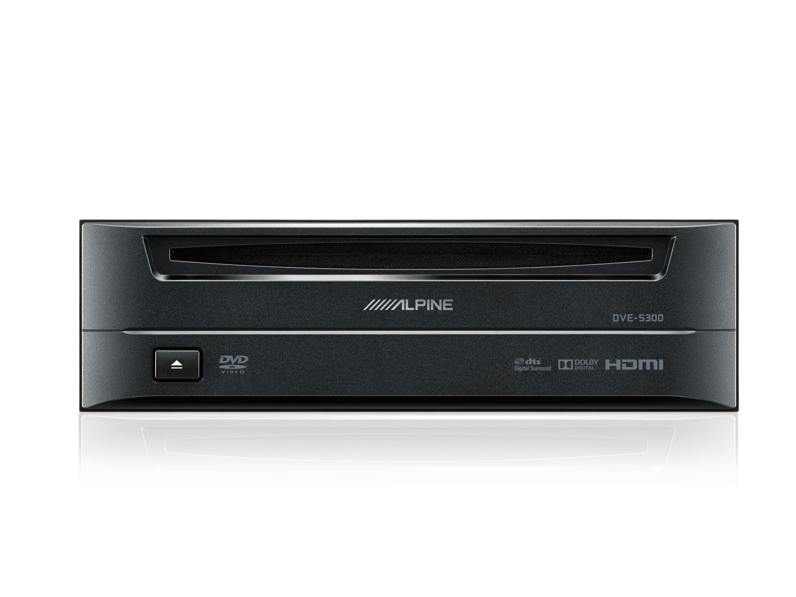 Alpine DVE-5300 Externer DVD-Player für INE-W710D, X802D-U und X902D