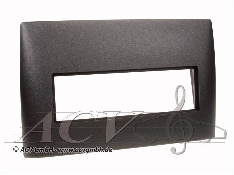 Radio écran tactile de caoutchouc noir Fiat Stilo