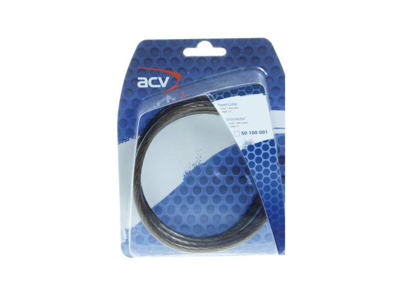 ACV 50-100-001 Stromkabel 10,00 mm² schwarz 1 Meter