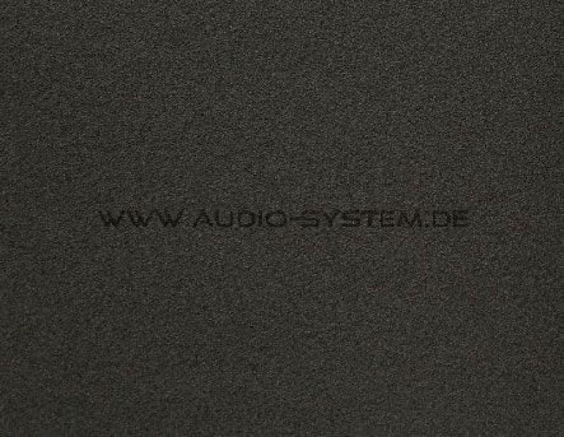 AUDIO SYSTEM AS RAINSTOP SCHAUMSTOFF - Wasserabweisend
