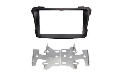 RTA 002.457-2 Doppel DIN Einbaurahmen passend für alle Modelle -ohne- Werksnavigation Hyundai i40 alle Modelle 11 ->