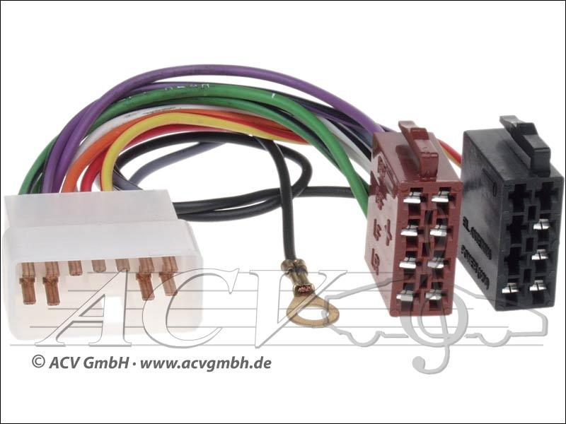 ACV 1297-02 câble Radio Subaru