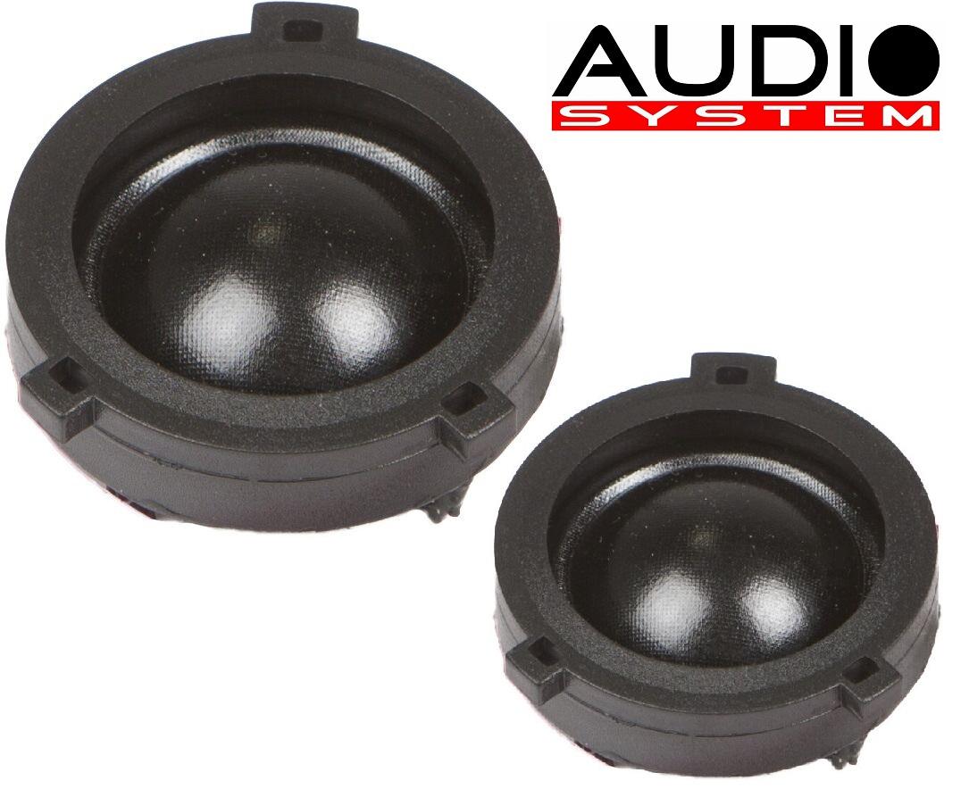 Audio System HS 25 VW EVO 2 Hochtöner VW Golf 4+5, Passat, Bora 1 Paar Hochtöner Tweeter