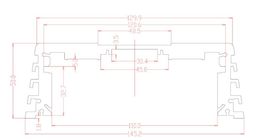AMPIRE MBM100.4 4-Kanal Endstufe, 4x 100 Watt, Class D AMPIRE MBM 100.4
