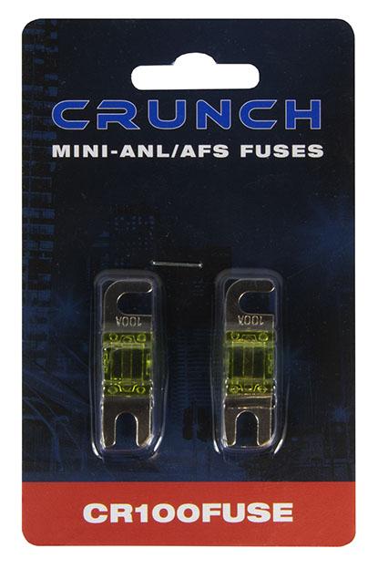 Crunch CR80FUSE Mini-ANL/AFS Sicherungen 80A 2 Stück