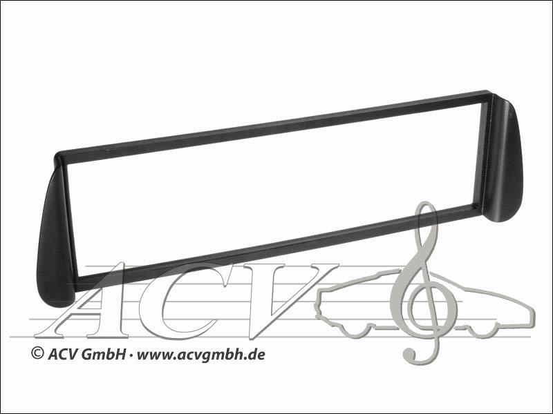 Radio panel rubber touch Citroen Picasso / Xsara black