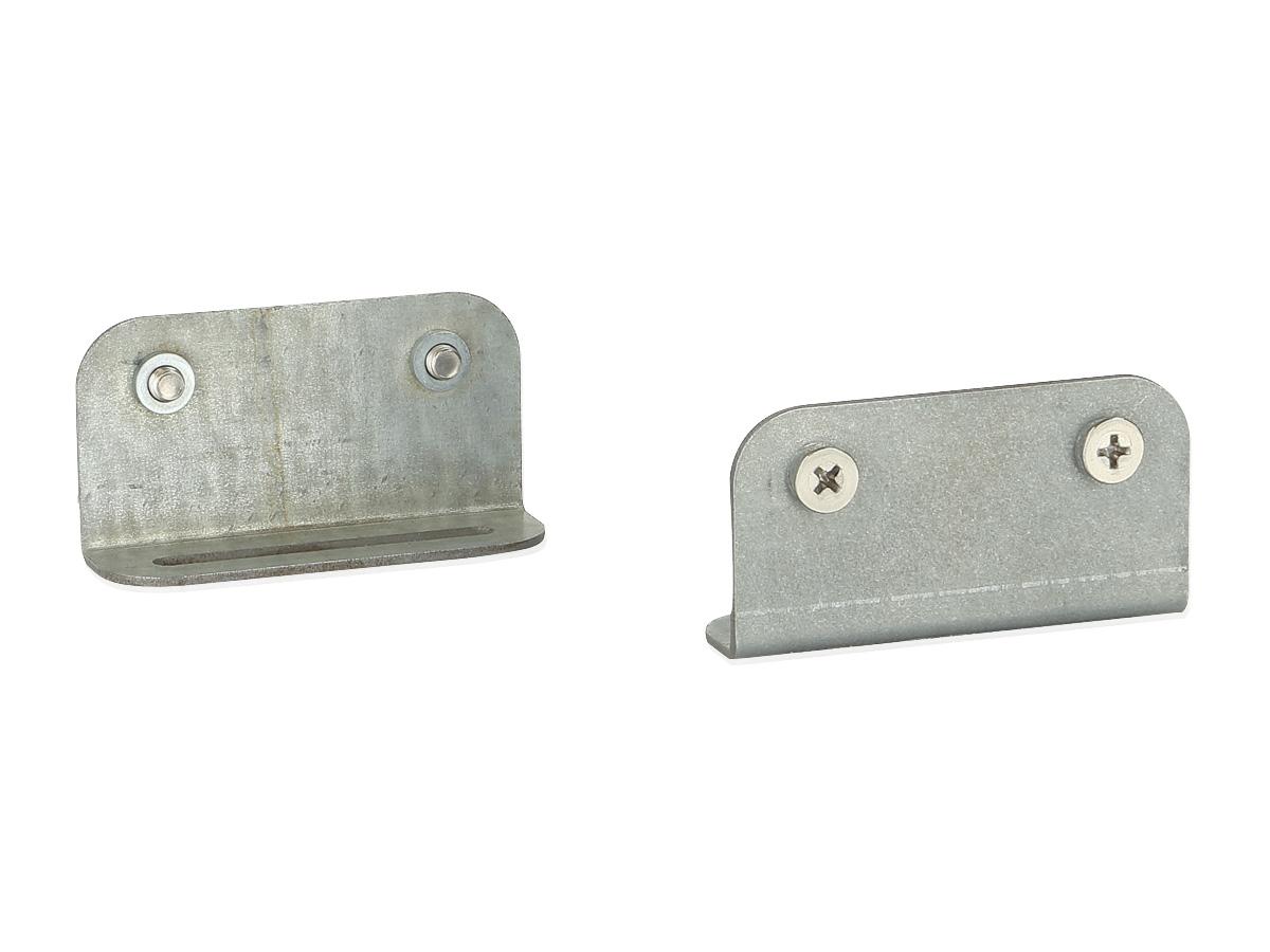 Alpine KTE-803UNI Befestigungsklammern Installations-Winkel für X802/3D/DC-U in Standard 2 DIN-Einbaurahmen