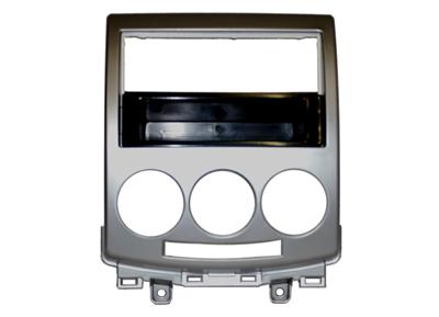 RTA 000.372-0 1- DIN Einbaurahmen, ABS silber Mazda 5/05 ->