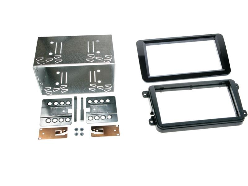 ACV 381320-10-2 2-DIN RB Seat / Skoda / VW Klavierlack / schwarz
