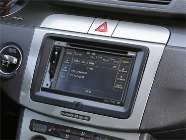 ACV 381320-30-1 Doppel DIN Einbau Set für Seat, Skoda und VW