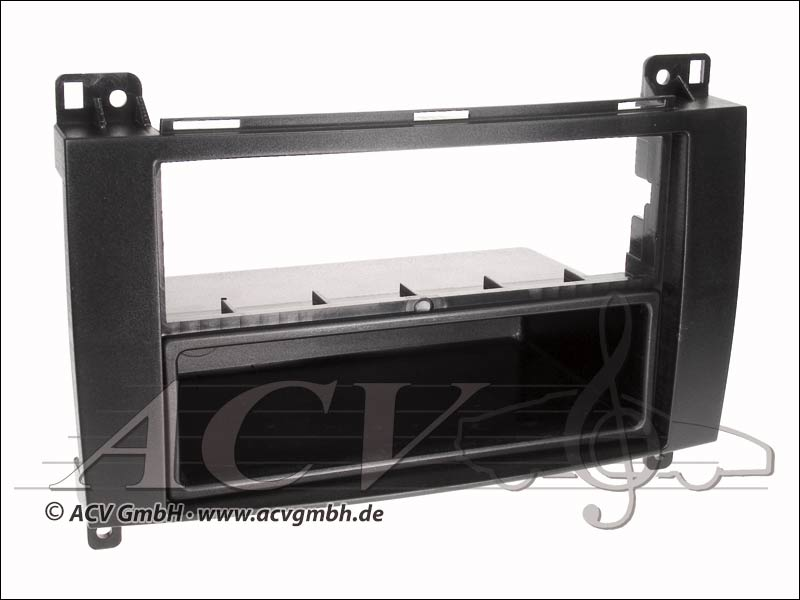 Double ISO aperture Rubber-Touch A / B-Klasse/Sprinter/Vian / Vito