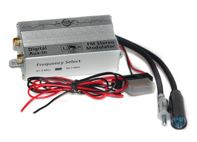 RTA 007.002-0 AUX IN - digital FM frequency converter