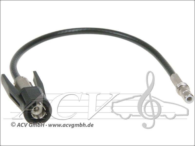 ACV 1502-25 Becker GPS Adapter SMB (m) -> AK72