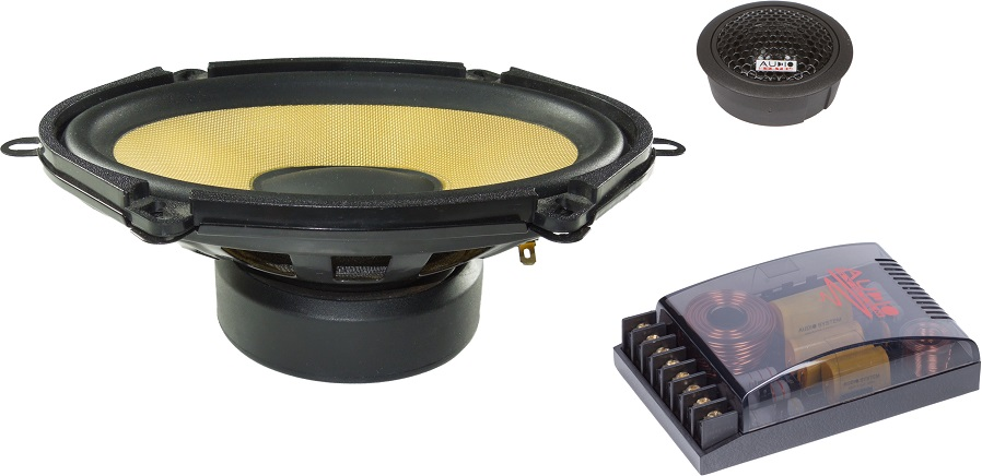 Audio System X507 5x7 2 Wege Ford Compo System