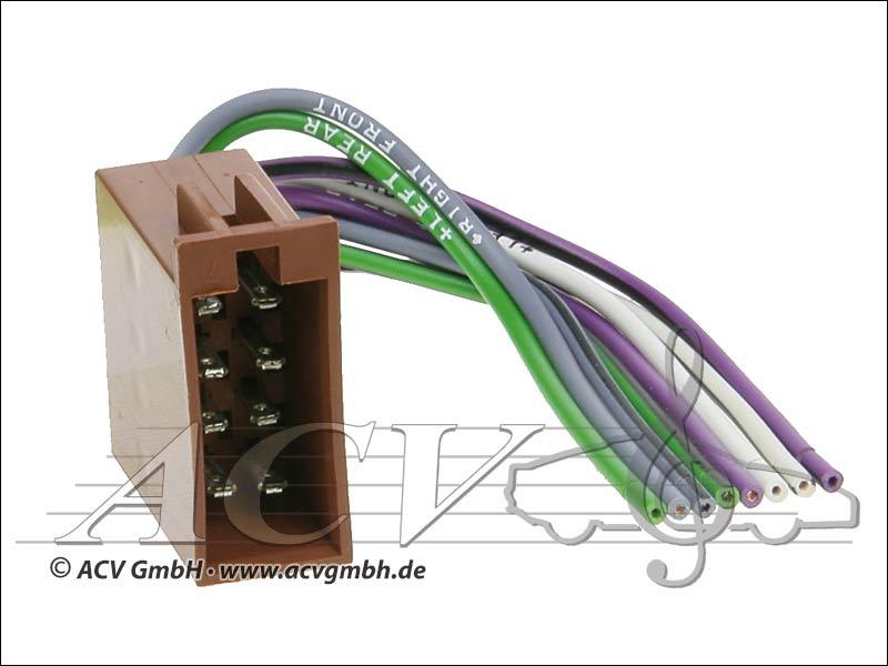 ACV 1322-00 Universal-Umrüstadapter Lautsprecher