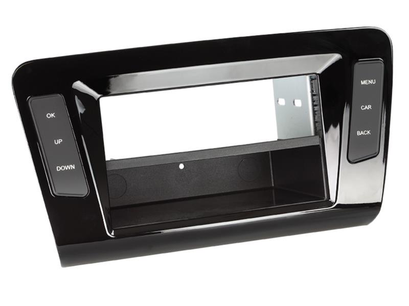 ACV 281320-33-1 2-DIN compartment with RB Skoda Octavia 2013- > piano black