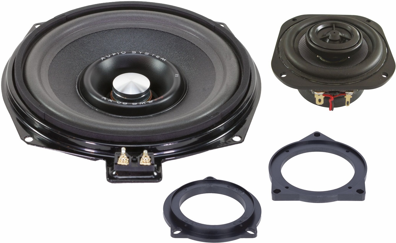 Audio System CO 200 BMW EVO 2 - 20cm Coaxial-System für vorne sowie alle BMW E/F Modelle CO200BMW