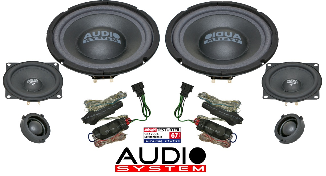 Audio System X--ion 200 Golf V 200 mm 3-Wege Xion 200 VW Golf5