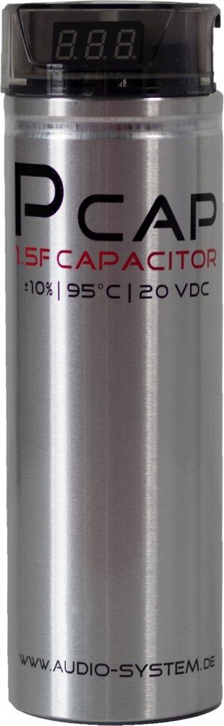 Audio System P/CAP EVO 1,5F Power-Stabilisationskondensator Powercap Kondensator