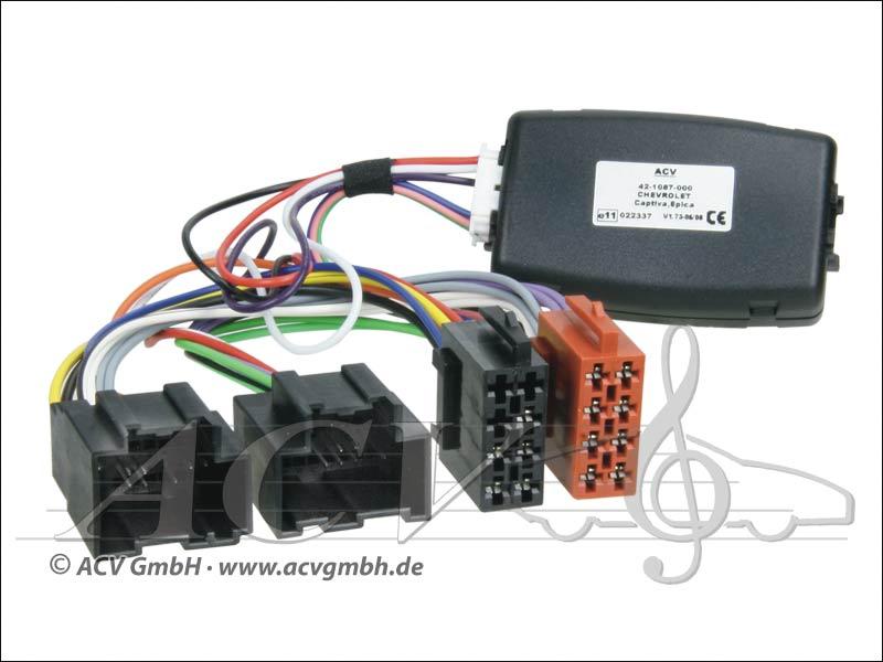 ACV 42-1087-600 direction adaptateur de roue Chevrolet Captiva -> Sony