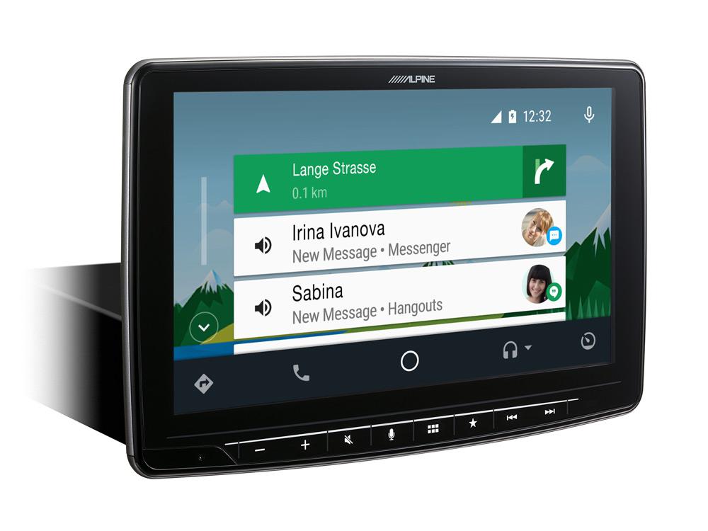 Alpine iLX-F903S907 Autoradio für Mercedes Sprinter (W907) mit 9-Zoll-Touchscreen 1-DIN-Einbaugehäuse, DAB+, Apple CarPlay und Android Auto Unterstützung