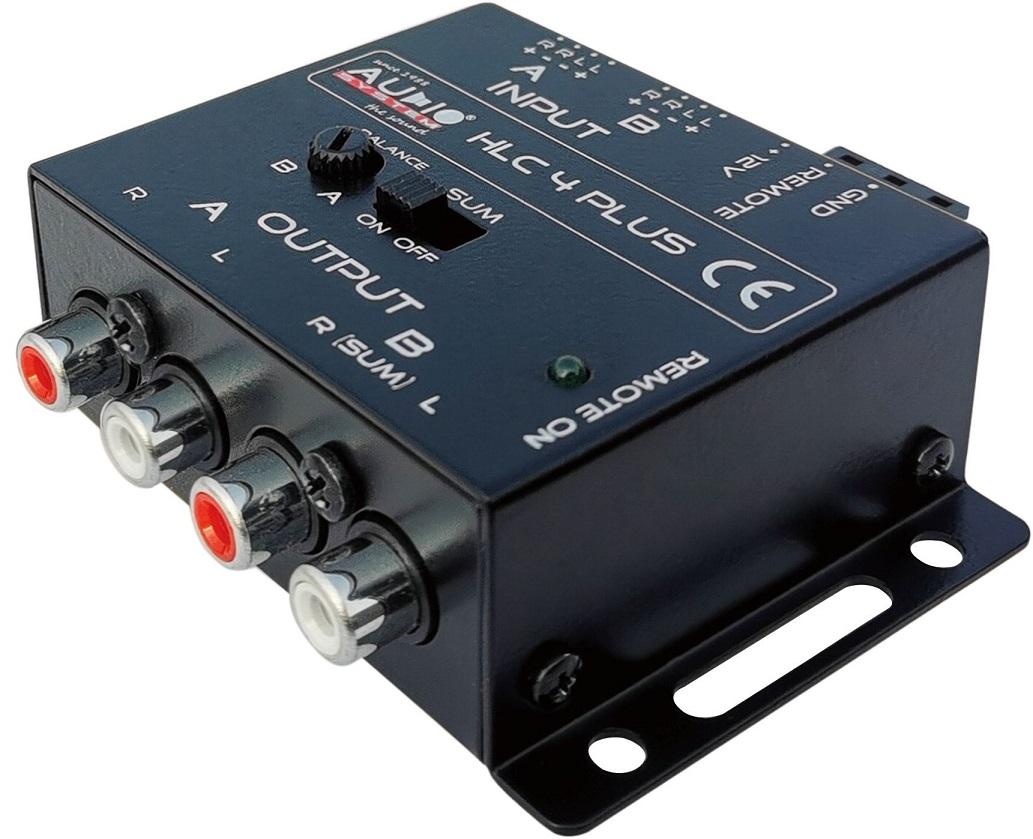 Audio System HLC 4 EVO 4-Wege High-Low Adapter für OEM Radios