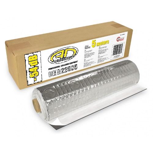 Audiodesign DMR22505 Alubutyl 5m DAMPING MATERIAL 1 Rolle 2,5m² - stärke 2,2mm