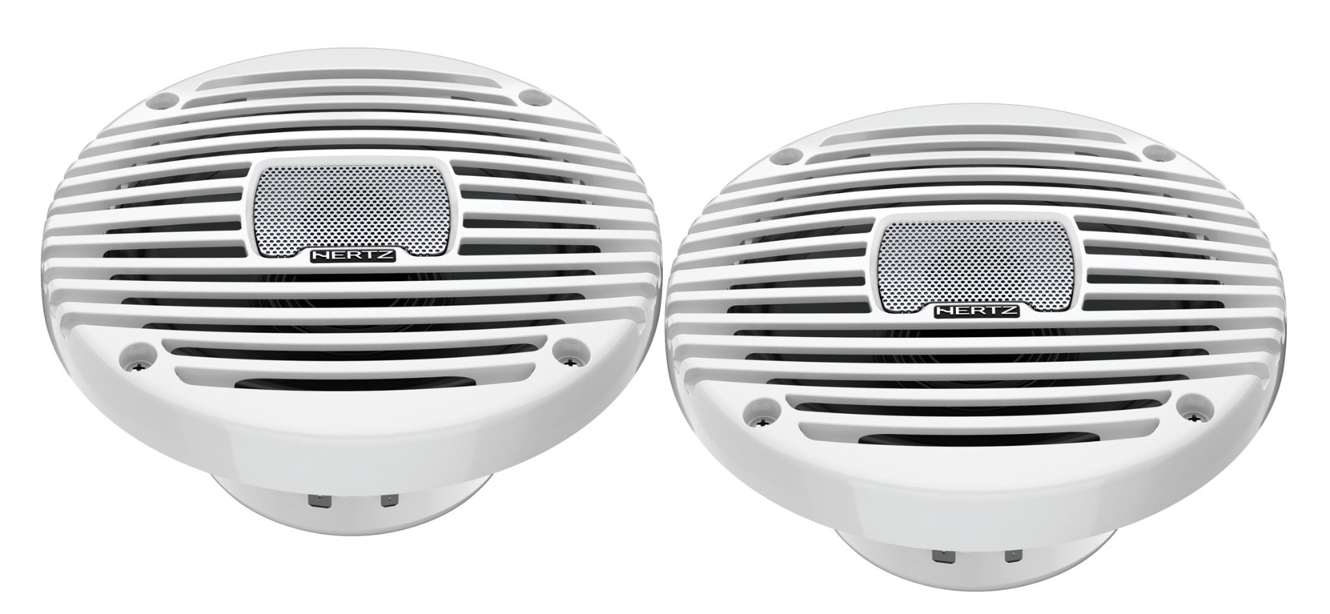 "Hertz HEX 6.5 M-W MARINE 6.5"" COAX SET- WHITE Marine/ Outdoor Lautsprecher 1 Paar 16,5cm"