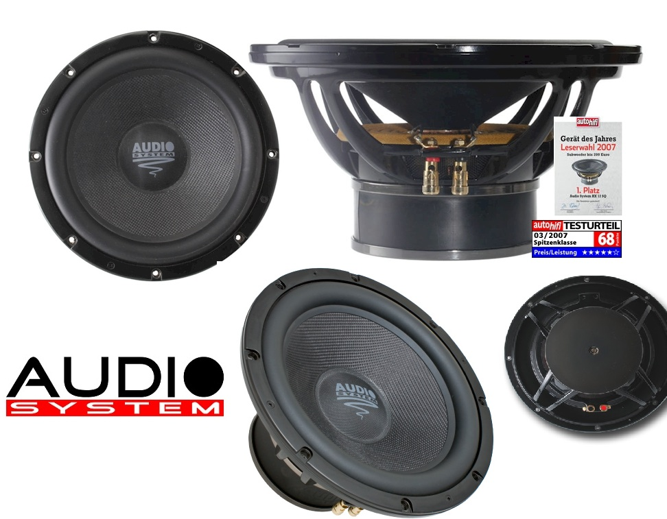 Audio System HX 12 SQ 30 cm High End Subwoofer HX12SQ