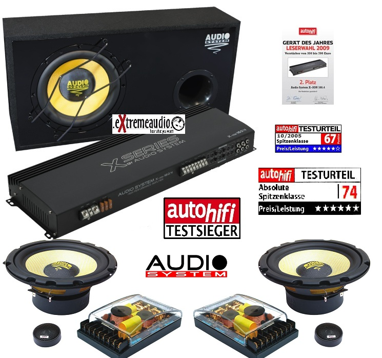 Audio System X--ION SERIES Set X-ION 12 + XION 160.4 + X-ION 165