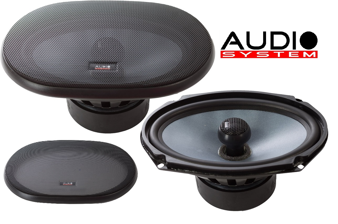 """AUDIO SYSTEM CO 609 EVO 6x9"""" HIGH LEVEL Coaxial System 1 Paar incl Gitter"""