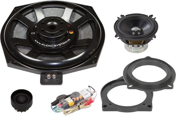 AUDIO SYSTEM HX 200 BMW DUST EVO 3-Wege Teil-Aktiv Front System