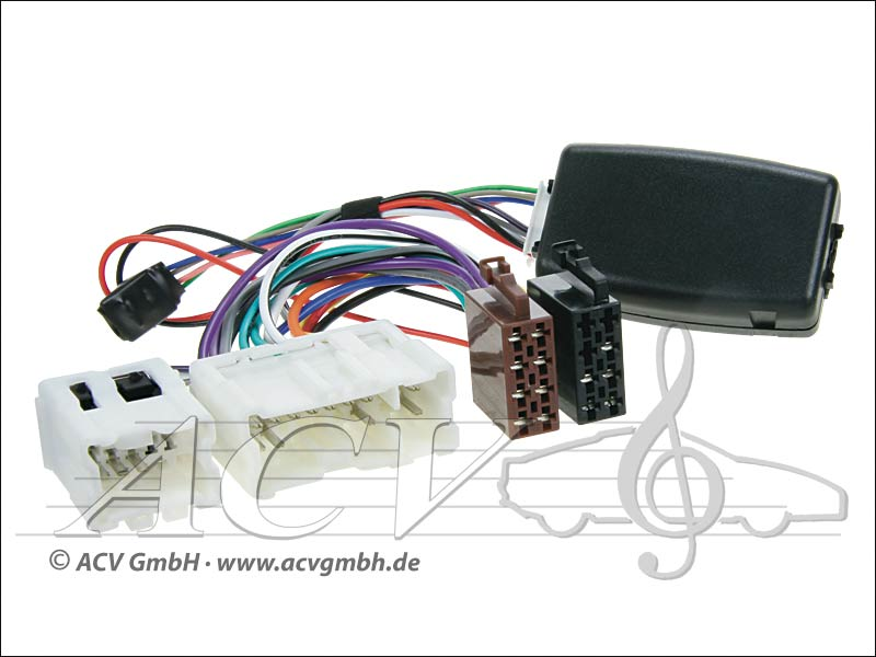 42-1213-700 Wheel Adapter Nissan Almera / X-Trail -> Kenwood