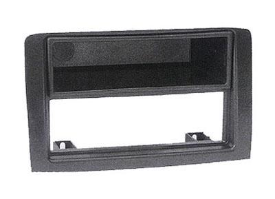 RTA 001.308-0 2- DIN Einbaurahmen, ABS grau FIAT Idea alle Modelle / 03 ->