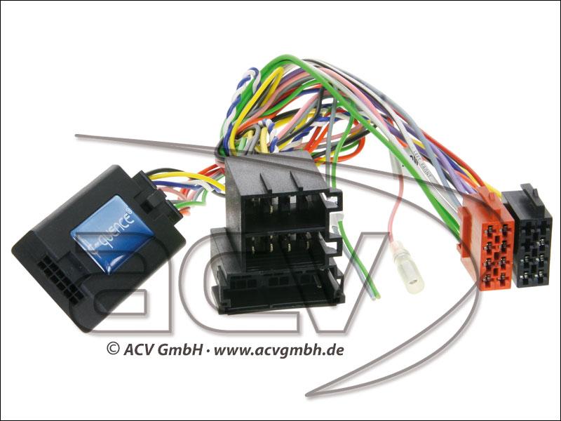 42-MC-505 Wheel Adapter Mercedes C-Class (W204) -> Blaupunkt