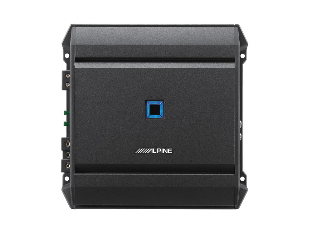 Alpine S-A60M Digitaler Mono-Verstärker 1 x 600 Watt Amplifier 1 Kanal AMP