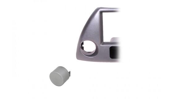 RTA 000.235-AB Accessoires pour cadres de montage , couvercle de l'interrupteur ARGENT