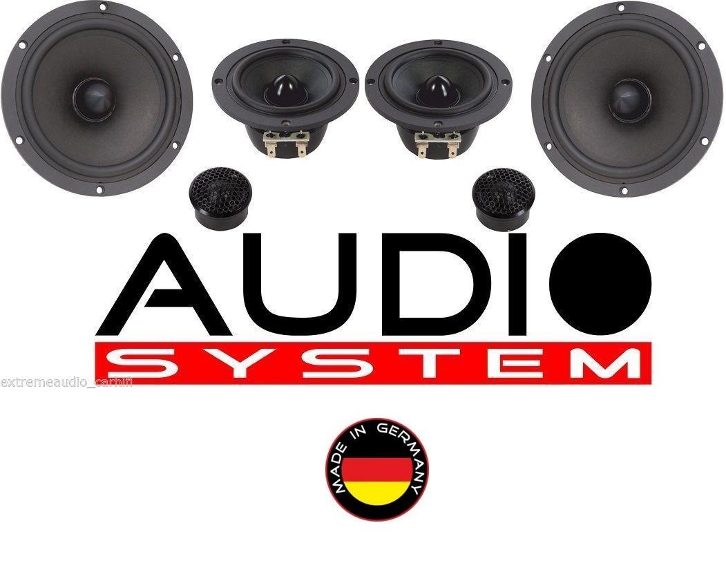 Audio System AVALANCHE 165-3 3-Wege System AVALANCHE-SERIES 300 Watt 1 Paar