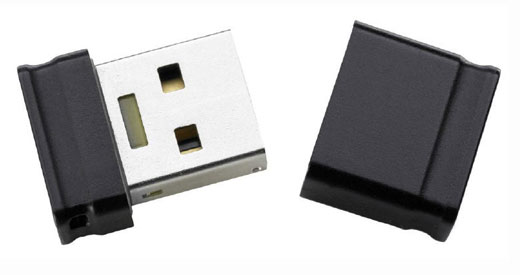 INTENSO Slim Line USB 3.0-Stick 64 GB (Micro)