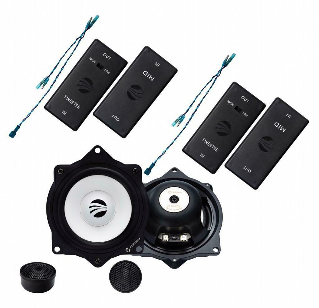 Rainbow IL-C4.2 PRO BMW Lautsprecher 2-way 4 inch (10cm) Compo Set Speaker